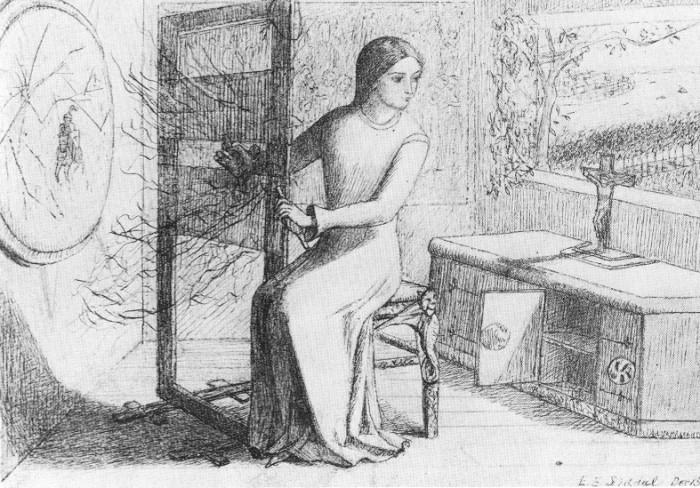 The Lady Of Shalott (1853)